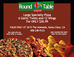 Round Table Pizza Santa Rosa Ca Round Table Pizza