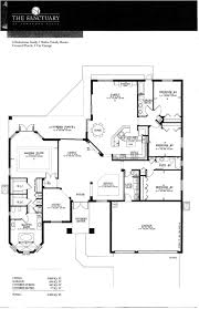 The Lenox Floor Plan Pembroke Falls Sanctuary Lenox Model Pool Home For Sale Willard