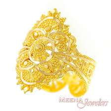 bridal gold ring gold indian filigree ring rilg2919 22kt gold ring indian