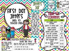 first day jitters back to activity unit for the first