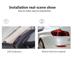 Blind Spot Detection System Installation Xfd Dc 12v 16v Ultrasonic Car Blind Spot Detection System And