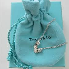 necklace tiffany images Tiffany co tiffany co era quot love quot cube sterling necklace jpg