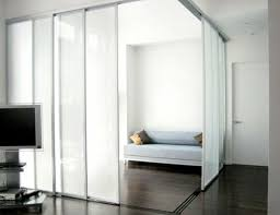 Door Room Divider - sliding doors as room dividers u2013 more privacy in the small