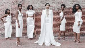 and white wedding re creates solange s all white wedding