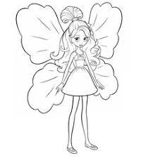 desenhos da barbie tumbelina colorir