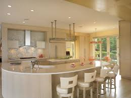 Round Kitchen Island by Kitchen Lovely White Kitchen Color Decor White Leather Chrome