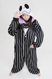 4kigurumi animal onesie jack skellington onesie