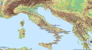 The Map Of Italy by Mapping Spartacus Using Pleiades In The Classroom