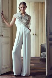 formal jumpsuits for wedding mara jumpsuit ivory in bhldn