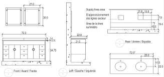Bathroom Cabinet Height Bathroom Vanity Top Dimensions Large Size Of Interior Ideas