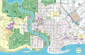 Town Maps Usa by Simpsons Town Map Thesimpsons