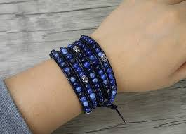 blue bead bracelet images 50 best men 39 s beaded bracelets beaded bracelets for guys jpg