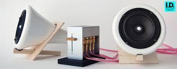 cool looking speakers ceramic speakers by joey roth look good sound great treehugger