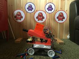nerf remote control tank fred 209 a raspberry pi powered 3d printed nerf tank