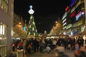 market wenceslas square picture of town square