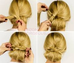 wedding hairstyles step by step instructions pictures easy updo hairstyle tutorial easy updo hair tutorial
