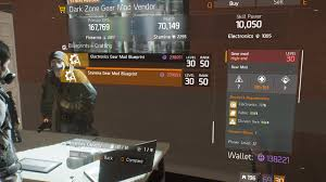 stamina gear mod blueprint crafting blueprint item the division