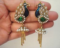 earing design 9 meenakari jewellery designs styles at