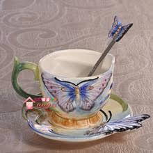 Decorating Porcelain Mugs Popular Butterfly Coffee Mugs Buy Cheap Butterfly Coffee Mugs Lots