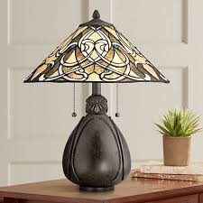 Lighting Fixtures Ta Quoizel India Imperial Bronze 19 1 2 H Table L 7t603