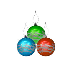 3 pack of music note christmas ornaments shar music sharmusic com