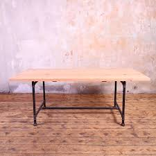 industrial style dining table trent austin design dilek
