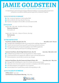 how to write a resume exles get nursing resume exles 2018 and land your