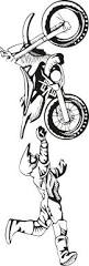 large motocross vinyl decal wall sticker wall tattoo large motocross vinyl decal wall sticker wall tattoo
