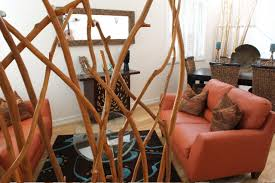 bamboo room divider living room contemporary with bamboo room