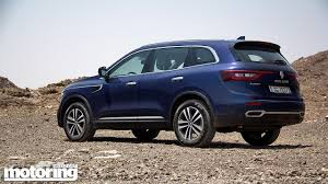 koleos renault 2018 2017 renault koleos reviewmotoring middle east car news reviews