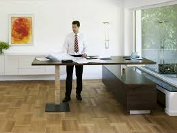 office desk adjustable height height adjustable rectangular office desk con air1 by spiegels
