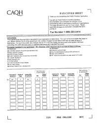 caqh fax cover sheet form fill online printable fillable