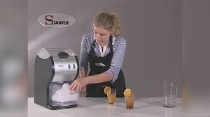 Nisbets by Santos Electric Ice Crusher Demo From Nisbets Cf604 Youtube