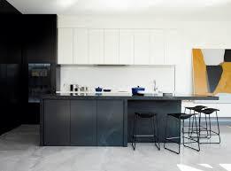 black and white kitchen design ideas realizing a black kitchen