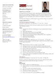 resume canada example example resume of an electrical engineer frizzigame sample resume electrical engineer fresh graduate frizzigame