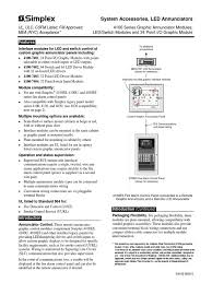 simplex 4100 0005 relay switch
