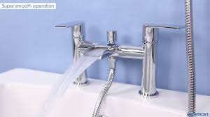 architeckt motala bath shower mixer tap plumbworld youtube