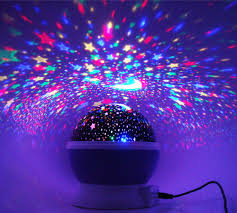 zhoppy moon and star light projector night light for babies and