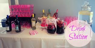 Cocktail Parties Ideas - cupcakes and cocktails bridal shower life without pink
