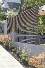 moderner zaun und bepflanzung u2026 pinteres u2026