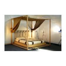 chambre en bambou chambre bambou lit en baldaquin decoration chambre avec lit élégant
