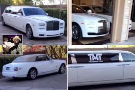 roll royce phantom custom floyd mayweather flaunts his six white rolls royces worth 2 1