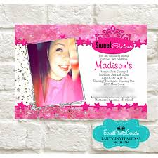 quinceanera party invitations buy now our pink bokeh stars quinceanera invitations sweet 15 invites