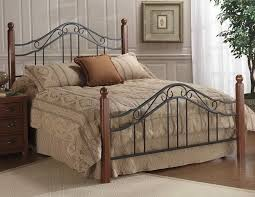 iron headboard king size bed home design ideas