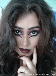 easy halloween witch catwitch makeup tutorial deck and dine