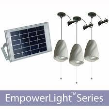 indoor shelter solar lighting kits