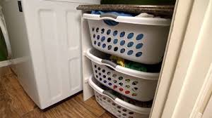 Build A Laundry Room - how to make a laundry hamper organizer today u0027s homeowner