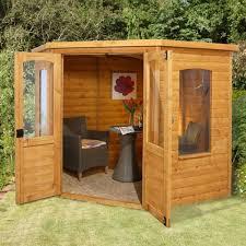 Garden Summer Houses Corner - hartwood 7 u0027 x 7 u0027 cranford corner summer house