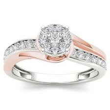 two tone gold engagement rings best two tone engagement ring photos engagement rings depot