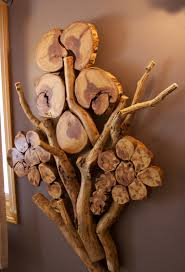 aspen tree branch wall sculpture modern rustic decor wood
